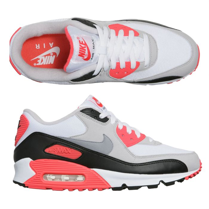 air max 90 gris et rose
